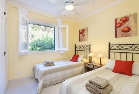 Villa Rosamond Bedroom 3 Son Parc Menorca