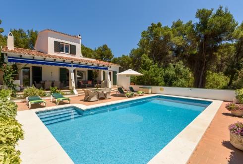 Menorca Villa Rosamond Pool and Terrace
