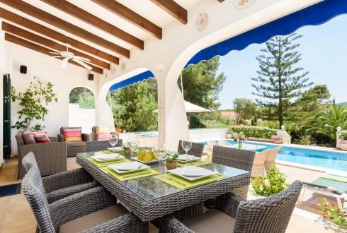 Menorca Villa Rosamond Terrace
